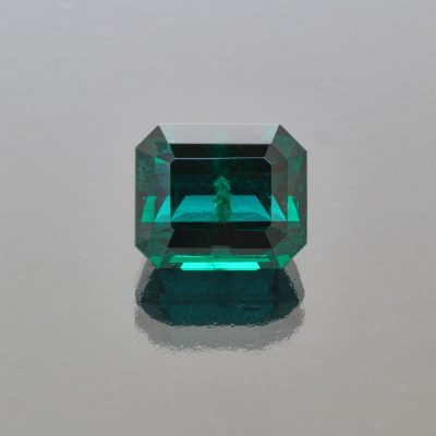 Emerald octagon 6.77 cts Madagascar by Caram_front view