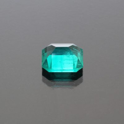 Emerald octagon Colombia 3.65 cts_back view