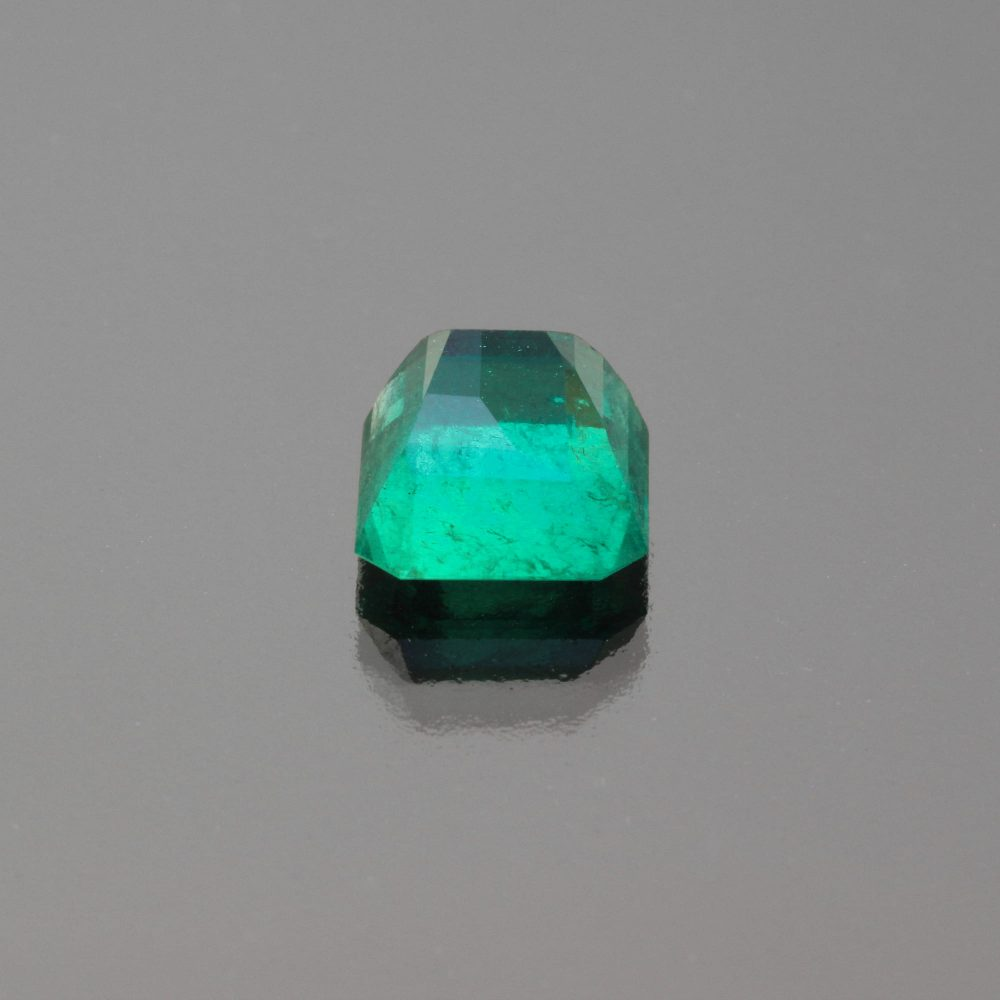 Emerald octagon Colombia by Caram_back view