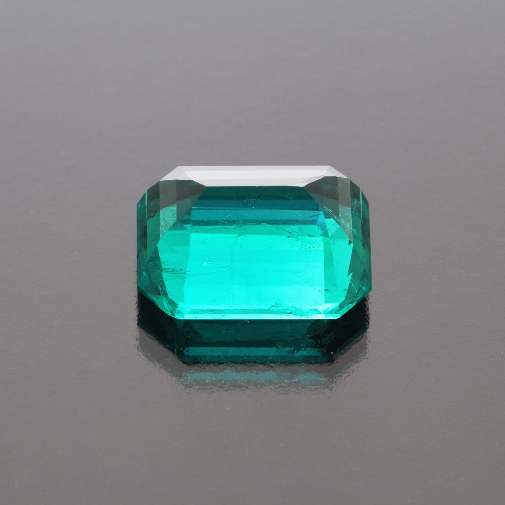Exceptional Emerald Octagon Colombia by Caram_back view