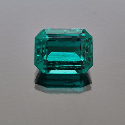 Exceptional Emerald Octagon Colombia by Caram_front view