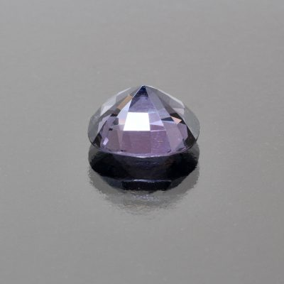 Purplish grey spinel coushion 4.45 cts by Caram_back view