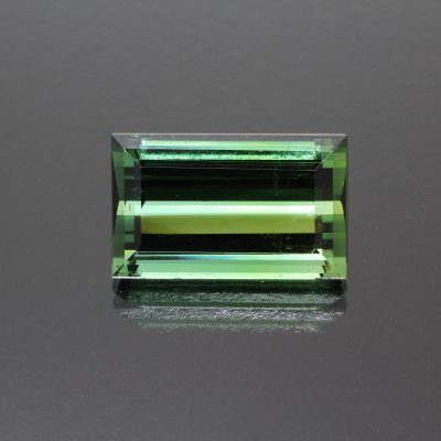Tourmaline baguette 17.95 cts_front view