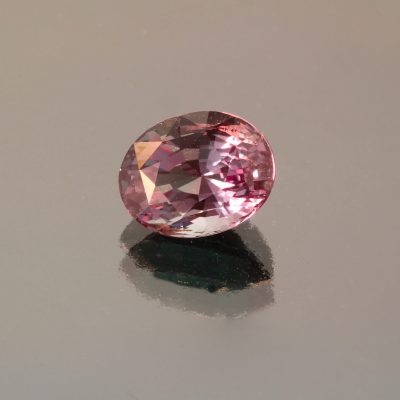 Alexandrite oval 3.1 cts by Caram_front view_red